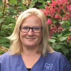 Headshot of Carolyn Kelter from Mill Bay Veterinary Hospital