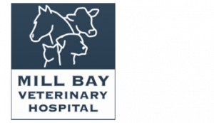 logo of mill bay veterinary hospital in mill bay british columbia